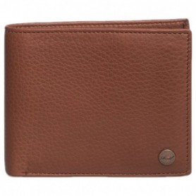 Reell Button Leather Wallet